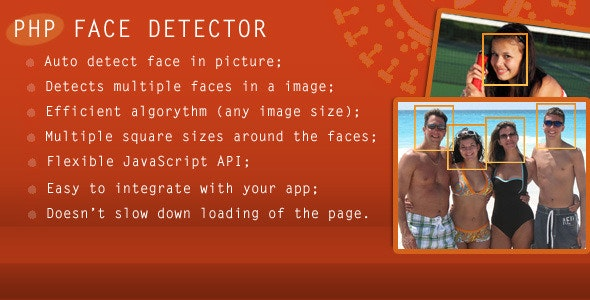 PHP Face Detector - CodeCanyon Item for Sale