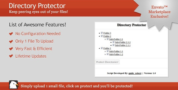 Directory Protector - CodeCanyon Item for Sale
