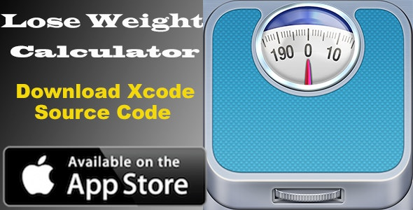 Lose Weight Calculator - iOS App - CodeCanyon Item for Sale