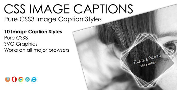 CSS Image Captions Pack - CodeCanyon Item for Sale