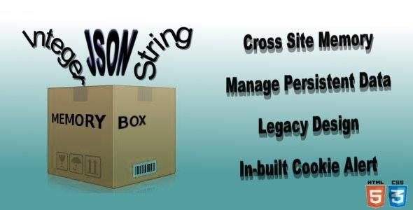 memoryBox - Persistent data storage - CodeCanyon Item for Sale