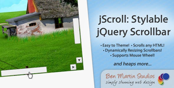 jScroll: Stylable jQuery Scrollbar