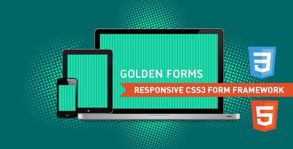 Golden Forms - Responsive CSS3 Form Framework