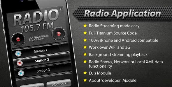 Radio Streaming - CodeCanyon Item for Sale