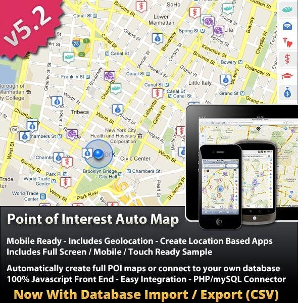 Point Of Interest (POI) Auto Map        Nulled