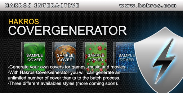 Hakros CoverGenerator - CodeCanyon Item for Sale