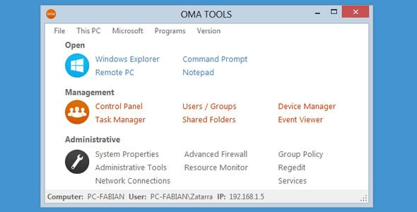 OMA TOOLS - CodeCanyon Item for Sale
