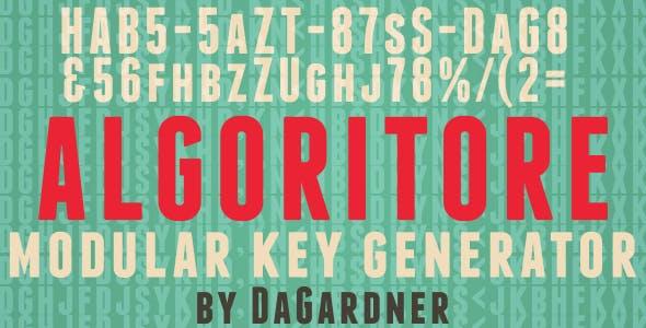 Algoritore - Code and Keygen Generator