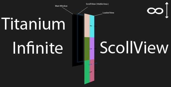 Titanium Infinite Scrolling Component - CodeCanyon Item for Sale