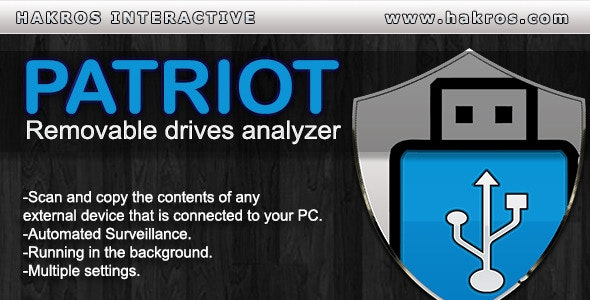 Patriot - Removable Drives Analyzer - CodeCanyon Item for Sale