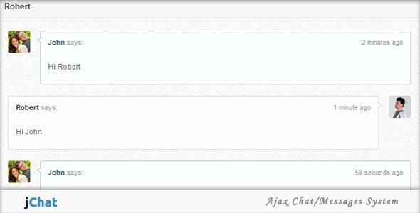 jChat - Ajax Chat/Messages System - CodeCanyon Item for Sale