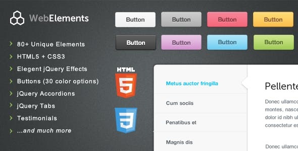 Web Elements - Buttons, Tabs, UI