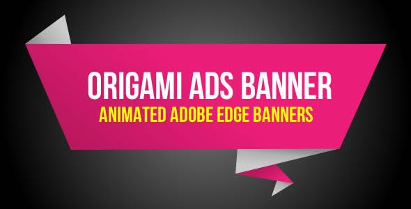 Origami Ads Banner