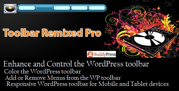 Toolbar Remixed Pro - CodeCanyon Item for Sale