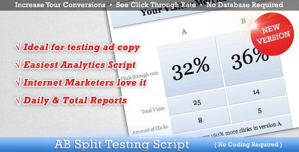 AB Split Test for Conversion Optimization