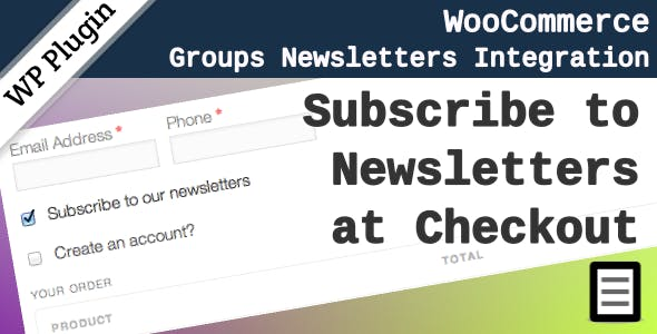 WooCommerce Groups Newsletters