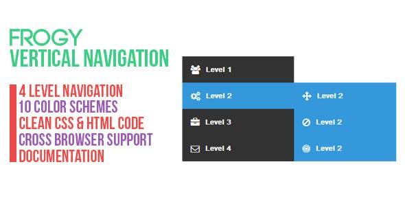 Frogy - Vertical Navigation