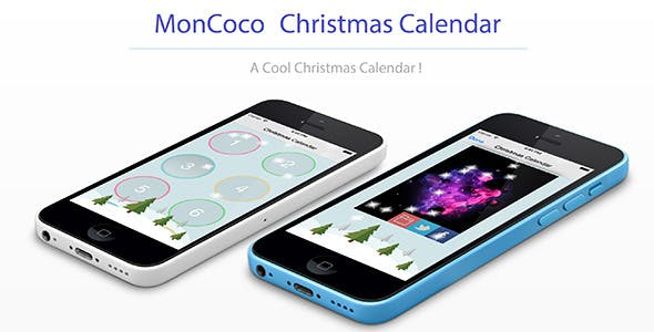 Moncoco-ChristmasCalendar V1.1 - Cool App for iOS 9