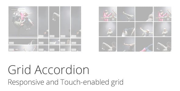 Grid Accordion - Responsive and Touch-Enabled Grid