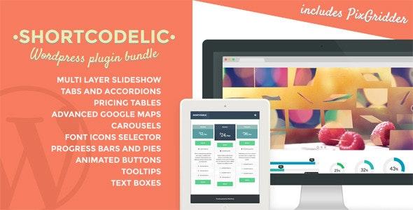 Shortcodelic - Wordpress Plugin Bundle - CodeCanyon Item for Sale
