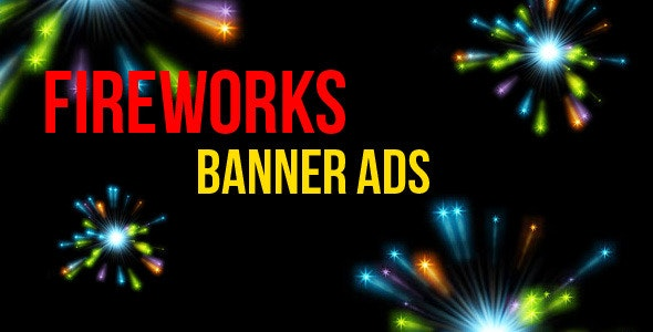 Fireworks Banner Ads - CodeCanyon Item for Sale