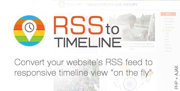 RSS Timeline Responsive Feedreader - CodeCanyon Item for Sale