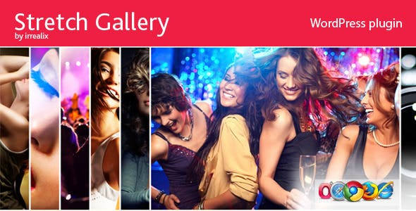 Stretch Gallery Accordion Slider - Wordpress Plugin