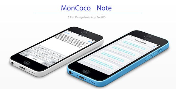 Moncoco-Note v1.2 - Note App for iOS 9