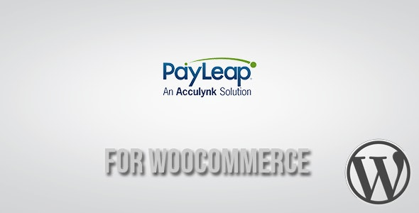 PayLeap Payment Gateway for WooCommerce - CodeCanyon Item for Sale