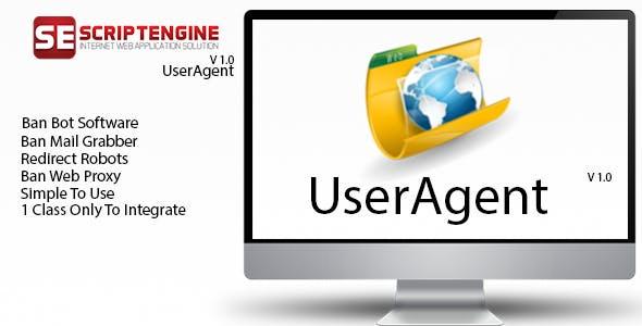 UserAgent Framework  Ban (Bot, Spam,Downloader)