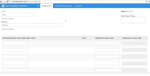 Ajax and Jquery POS /  Invoice Management System - CodeCanyon Item for Sale