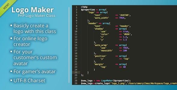 PHP Logo Maker
