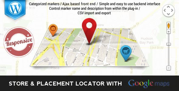 Google Maps Places & Store Locator for Wordpress