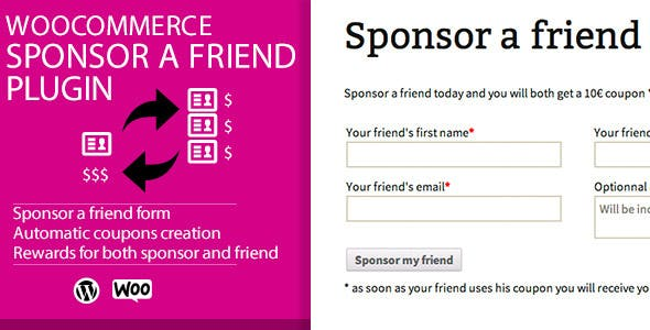 WooCommerce Sponsor a Friend Plugin