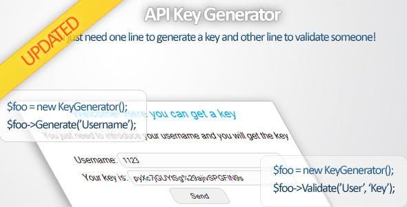 API Key Generator