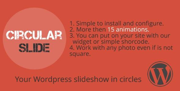 Circular Slide - Wordpress plugin - CodeCanyon Item for Sale