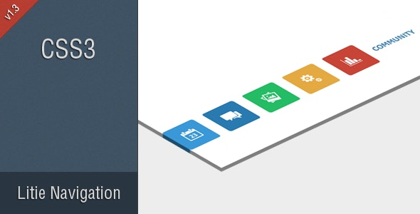 Litie - Modern Css Navigation - CodeCanyon Item for Sale