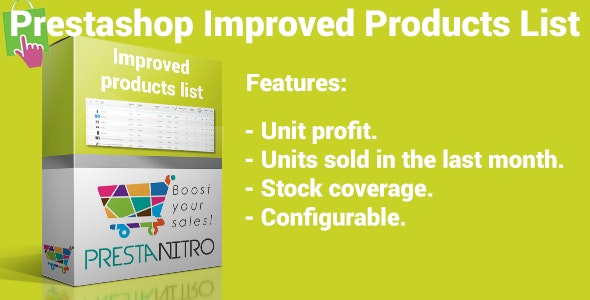 Prestashop Improved Product List - CodeCanyon Item for Sale