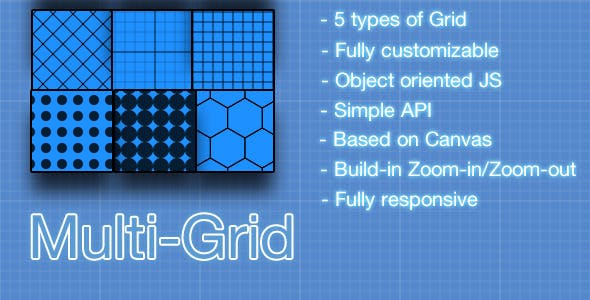 Canvas Multi-Grid construction