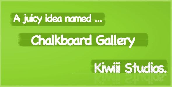 iPad Gallery | Chalkboard - CodeCanyon Item for Sale