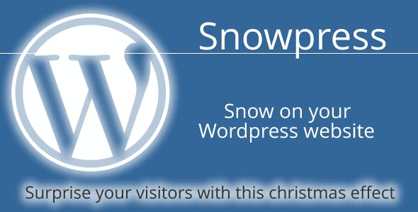 Snowpress - Wordpress christmas plugin