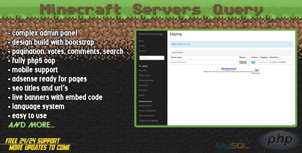 Minecraft Servers Query