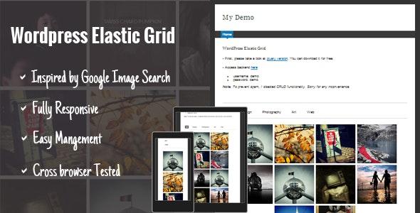 WP Elastic Grid - CodeCanyon Item for Sale