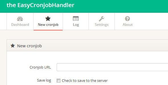 Easy Cronjob Web Handler - CodeCanyon Item for Sale