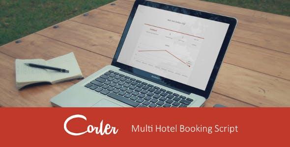 Corler MHBS - Multi Hotel Booking Script