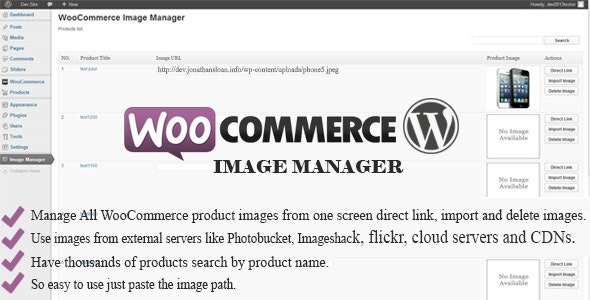 WooCommerce Image Manager - CodeCanyon Item for Sale