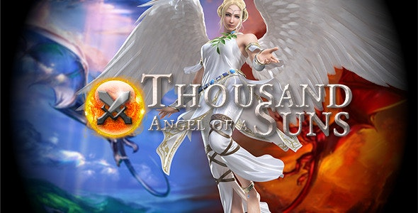 Angel of a Thousand Suns - Game - CodeCanyon Item for Sale
