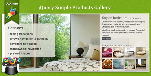 jQuery Simple Product Gallery - CodeCanyon Item for Sale