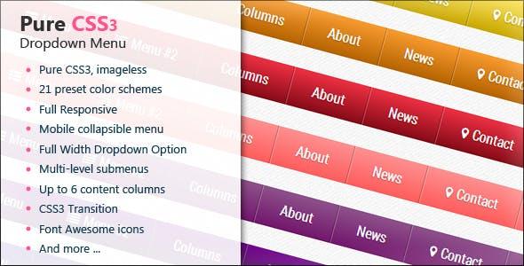 CSS Menus from CodeCanyon