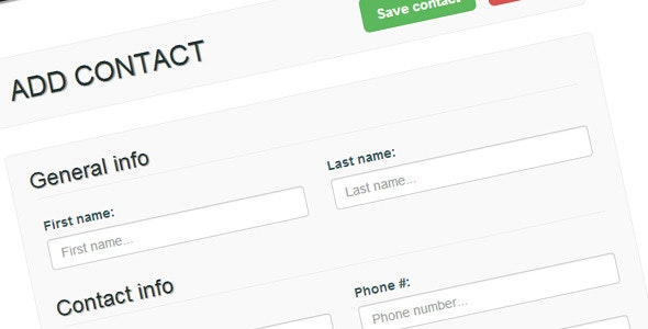 Contactr - Contact Relationship Management tool - CodeCanyon Item for Sale